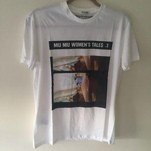 Used Miu Miu Tales jersey 2 T-shirt